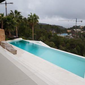 Delfina White Latin Natural stone outdoor - Private villa