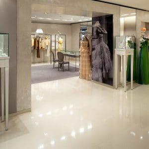 Dior Boutique - Delfina White Latin - Polished finish