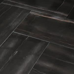 Black natural limestone