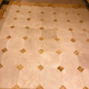 Natural stone floor Marble Crema Marfil