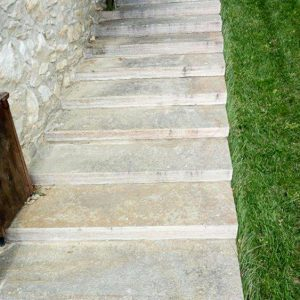 Alfalfa stone staircase