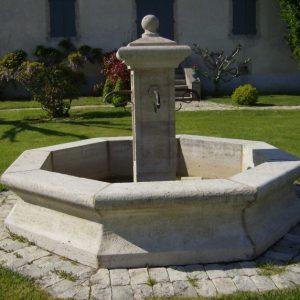 Provencal fountain referred