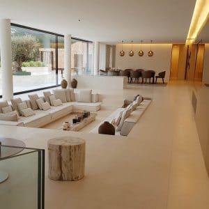 Delfina White Latin limestone indoor - Honed finish