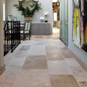 The charm of natural stone flooring