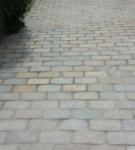Natural cobblestone in Tandur