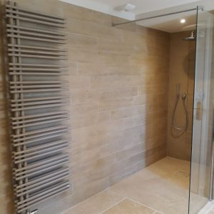 Natural stone bathroom Cèdre Bronze - Brushed finish - Free length