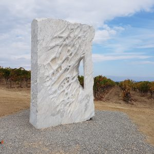 Sculpture in natural stone