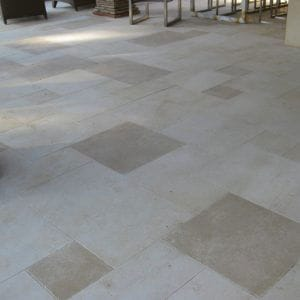 Créma Nova Beige Natural Stone Exterior Floor - Sandblasted and honed Finishes