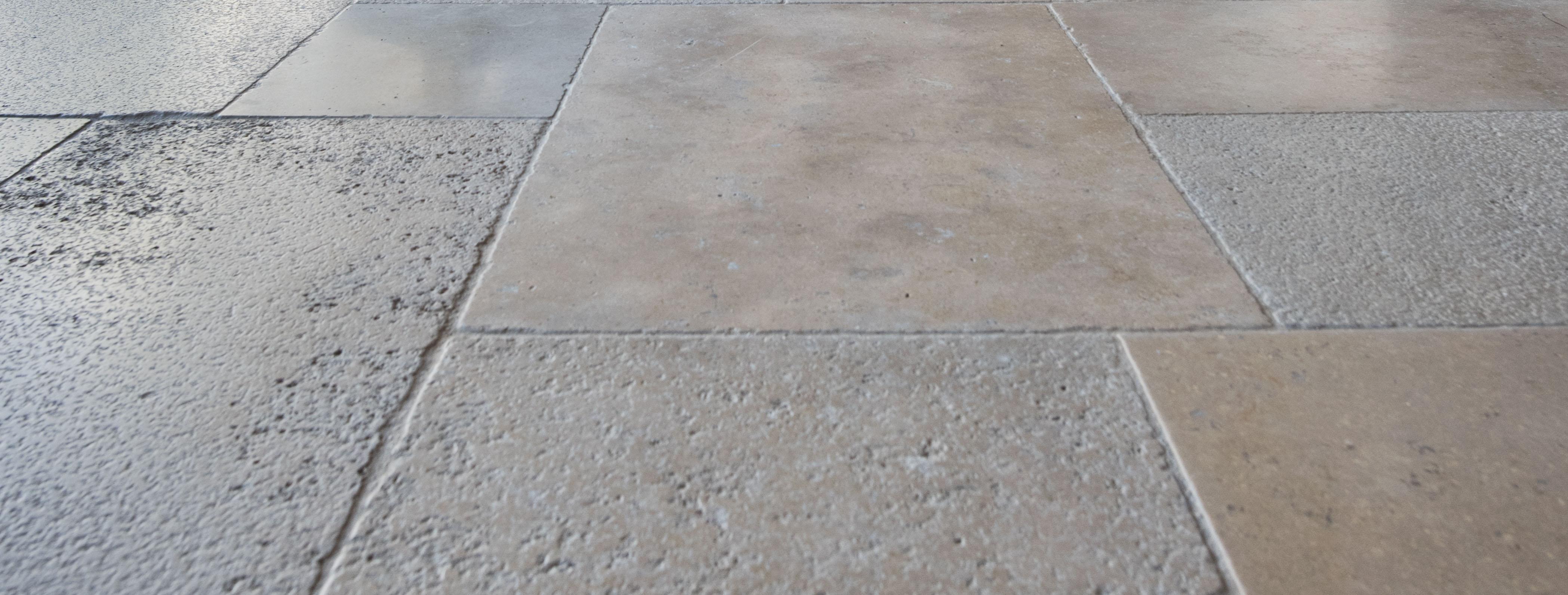 Natural beige stones
